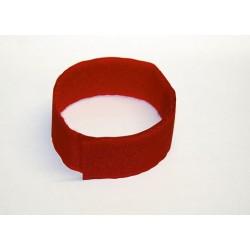 Bracelet Rouge Velcro (10Pcs)