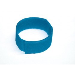 Bracelet Bleu Velcro (10Pcs)