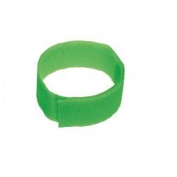 Bracelet Vert Velcro (10Pcs)