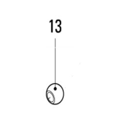 Pièce Xtra Tête Mouton 721-106 / 13