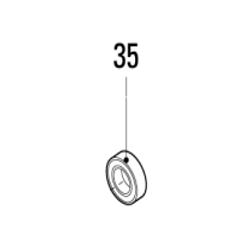 Pièce Heiniger Moteur 701-636 / 35