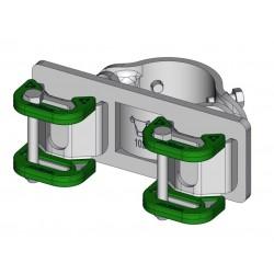Paalklem Ø102mm Surlock Dubbel