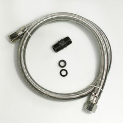 "Flexible Slang RVS 1/2"" 100 cm"