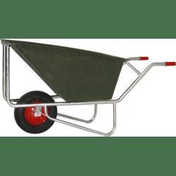Kruiwagen PVC 170 l - 1 wiel