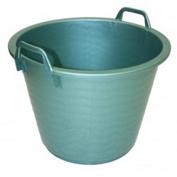 Mand Plastiek Groen 40 l