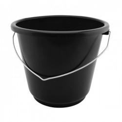 Emmer PVC zwart 12 l